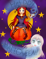 Happy Halloween! by MissChibiChild