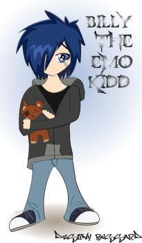 Emo Kid Vector by x-wanna-be-vamp-x
