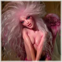 Pinkitude Angel by wingdthing
