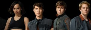 Divergent Film Characters Banner by nickelbackloverxoxox