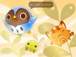 We Are Hungry - title sceen by ethe