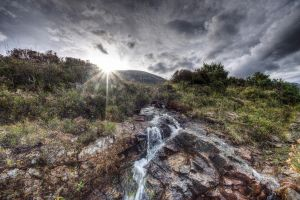 Skye Hillside HDR by Spyder-art