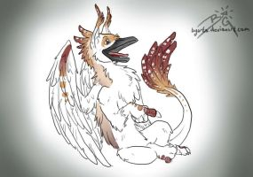 Gauge as a Gryphon by BGArts