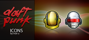 Daft Punk Icons by mat-u