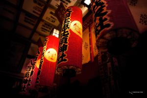 Shinto lanterns by cariocaz