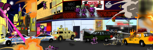 2013 Conflict (Collab) by Catsville1
