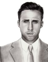 Ryan Gosling by mydeadflowers