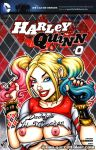 Naughty Suicide Squad Harley bust cover by gb2k