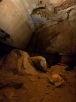 Cave Wall and Dirt Floor - Mammoth Cave by CarolineRutland