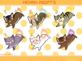 CLOSED - Michan Adoptables by Capukat