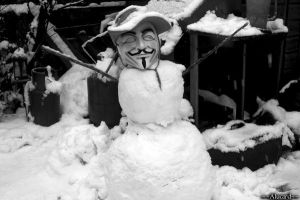 The Anonymous Snowman by the-last-quincy