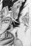 What if I mix Yugioh and Utau on a sheet of paper? by lenita1