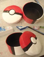 Pokeball Jewelry and Trinket Box by Sorenli