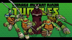 Teenage Mutant Ninja Turtles by momarkey