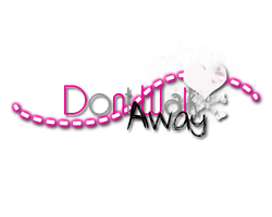 Dont Walk Away Texto PNG by DivasWorld