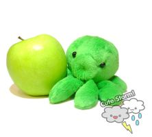 Apple green octopus by The-Cute-Storm