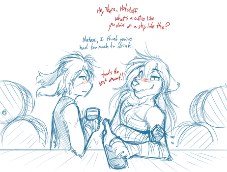 Drinking Buddies by Twokinds
