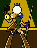 Billiards Prince by PainfulElegy