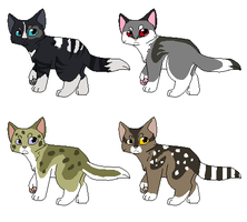 { Cat Adoptable Batch One } { Open } by SoupCreations