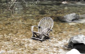 River seat. by DirtyLittleDevil