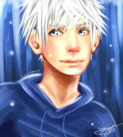 Speed Paint: Jack Frost by chi-tokiyo