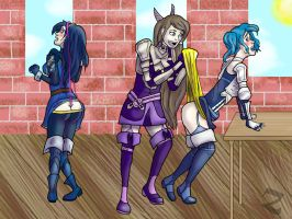 Fire Emblem Wedgies by ZenithIllustrations
