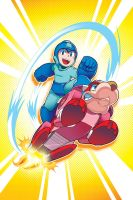 Mega Man 36 Cover by herms85