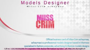 Miss crim business card by joliokabi