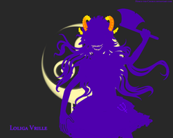 Loliga Vrille Wallpaper by Horus-The-Chorus