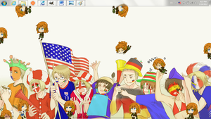 Emily F. Jones a.k.a Female America by Shewen