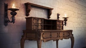 chest of drawers by 3DEllesar