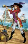 Captain Rosella the Pirate by seanforney