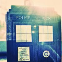 The TARDIS by Dentriloquism