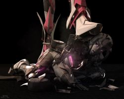 Elita, Please.. have mercy... by JPL-Animation