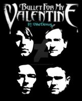 Bullet For My Valentine - Faces by snowyblackrose