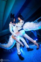Generation Ahri Cosplay (League of Legends X SNSD) by QTxPie