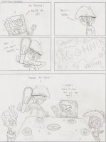 Comic Sketch: Chainsaw Killer by dannyfangirl