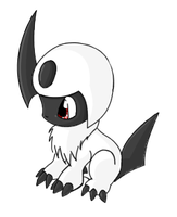 Absol - PK by Tenchis