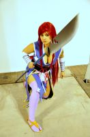 Erza Scarlet Cosplay 15 by HellDolly