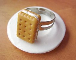 Sandwich cookie ring by mmagda
