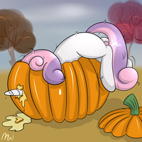 Pumpkin Puncturing by MalWinters