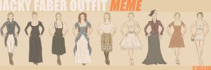 Jacky Faber Outfit Meme by arelia-dawn