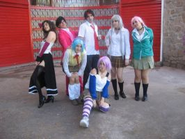 Rosario Vampire Group by ichitaicho