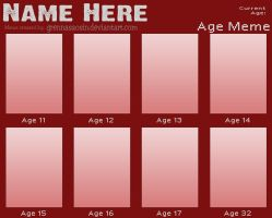 Age Meme - Blank by Speedvore