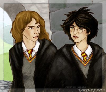 Harriet and Hermione by napalmnacey