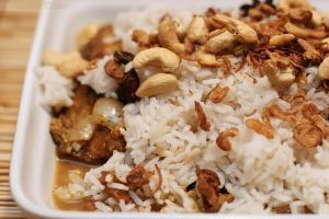 Rice with fish biryani by patchow