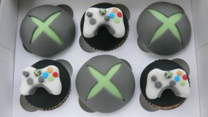 Xbox cupcakes by laylah22