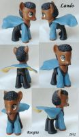 Lando Calrissian pony by Roogna