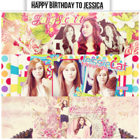 Happy Birthday To Jessica Jung(18/4) by Lee-Yinah