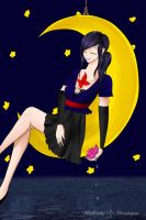 On The Moon by Melody-Musique